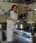 """Vincent Labulle, restaurateur à l'enseigne"""" l'Ecole Buissonière"""" à Millay"""